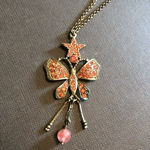Vintage? Butterfly Necklace. Found at antique shop